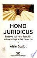 Libro de Homo Juridicus