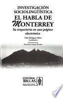 Libro de Investigación Sociolingüística El Habla De Monterrey