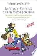 Libro de Errores Y Horrores De Una Mamá Primeriza
