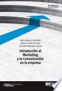 Libro de Introducción Al Marketing Y La Comunicación En La Empresa 2ª Edición