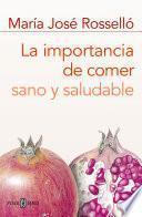 Libro de La Importancia De Comer Sano Y Saludable