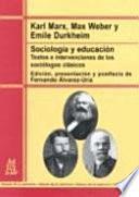 Libro de Sociología Y Educación