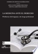 Libro de La Medicina Ante El Derecho
