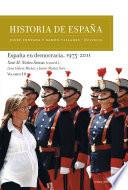 Libro de España En Democracia, 1975 2011