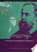 Libro de La Geografía Contemporánea Y Elisée Reclus