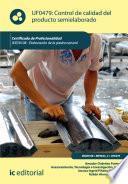 Libro de Control De Calidad Del Producto Semielaborado. Iexd0409