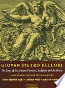 Libro de Giovan Pietro Bellori: The Lives Of The Modern Painters, Sculptors And Architects