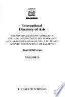 Libro de Annuaire International Des Beaux Arts