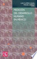 Libro de Medición Del Desarrollo Humano En México