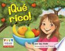 Libro de qu' Rico! (yummy! Yummy!)