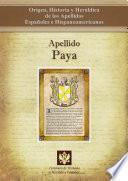 Libro de Apellido Paya