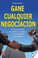Libro de Gane Cualquier Negociación