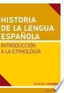 Libro de Historia De La Lengua Espaňola