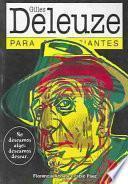 Libro de Gilles Deleuze Para Principiantes