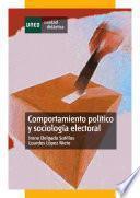 Libro de Comportamiento Político Y Sociología Electoral