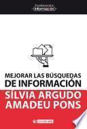Libro de Mejorar Las Búsquedas De Información