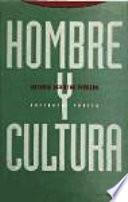 Libro de Hombre Y Cultura