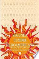 Libro de Segunda Cumbre Iberoamericana, Madrid, España, 1992