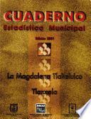 Libro de La Magdalena Tlaltelulco Tlaxcala. Cuaderno Estadístico Municipal 2001