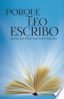 Libro de Porque Leo Escribo