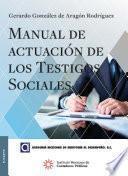 Libro de Manual De Actuación De Los Testigos Sociales