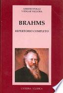 Libro de Brahms