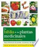Libro de La Biblia De Las Plantas Medicinales