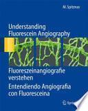 Libro de Understanding Fluorescein Angiography, Fluoreszeinangiografie Verstehen, Entendiendo Angiografía Con Fluoresceína