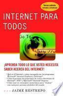 Libro de Internet Para Todos