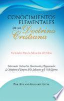 Libro de Conocimientos Elementales De La Doctrina Cristiana