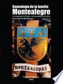 Libro de Genealogia De La Familia Montealegre