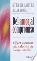 Libro de Del Amor Al Compromiso