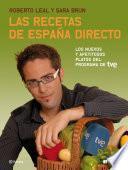 Libro de Las Recetas De España Directo