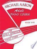 Libro de Michael Aaron Adult Piano Course, Book 1