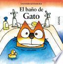 Libro de El Baño De Gato