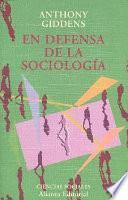 Libro de En Defensa De La Sociología