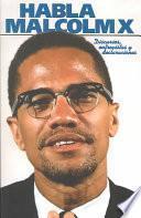 Libro de Habla Malcolm X