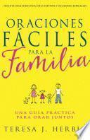 Libro de Oraciones Fáciles Para La Familia