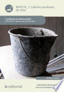 Libro de Labores Auxiliares De Obra. Eoch0108