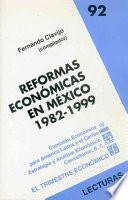 Libro de Reformas Económicas En México, 1982 1999