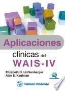 Libro de Aplicaciones Clínicas Del Wais Iv