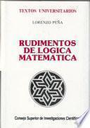 Libro de Rudimentos De Lógica Matemática