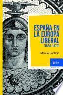 Libro de España En La Europa Liberal