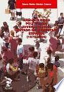 Libro de Análisis De La Política De Juventud En El Estado De Bienestar Español, 1975 2005
