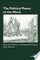 Libro de The Political Power Of The Word