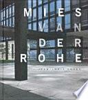 Libro de Mies Van Der Rohe