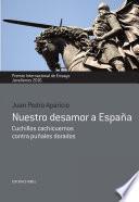 Libro de Nuestro Desamor A España