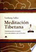 Libro de Meditación Tibetana
