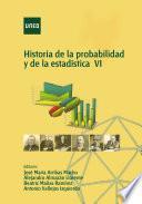 Libro de Historia De La Probabilidad Y La Estadística Vi