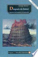 Libro de Después De Babel